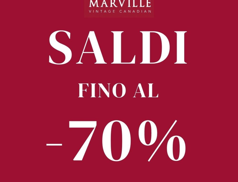 MARVILLE – SPECIAL SALE!
