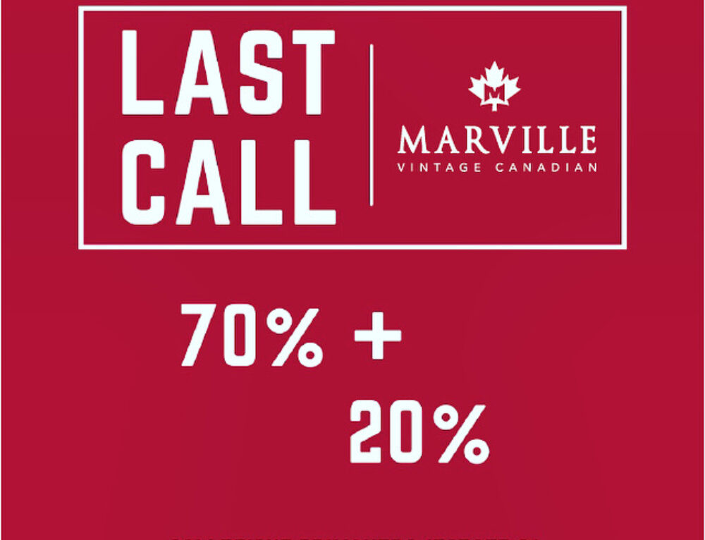 MARVILLE-LAST CALL!